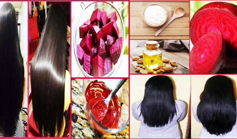 Homemade Oil to Get Thick & Healthy Hairs with Beetroot