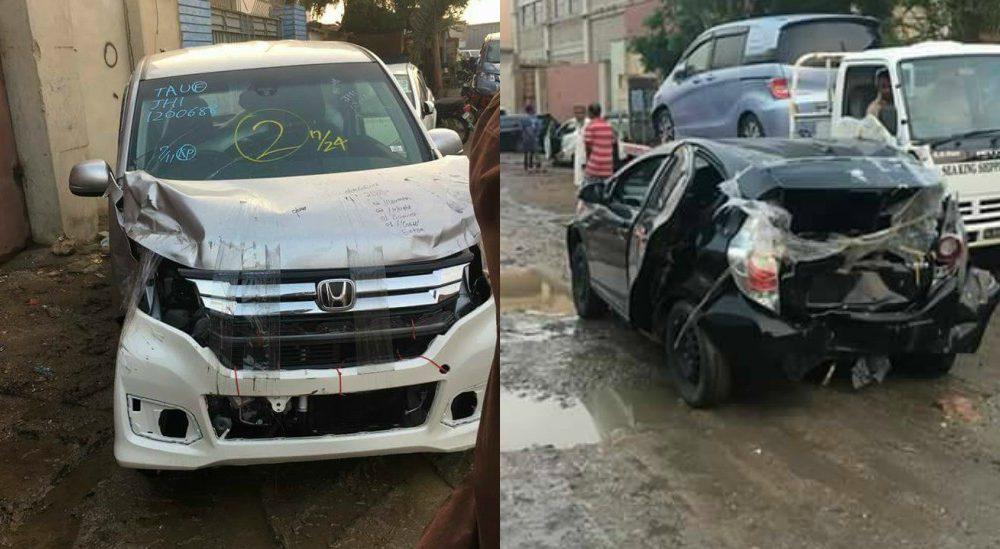 Real condition of Japanese cars which imported in Pakistan